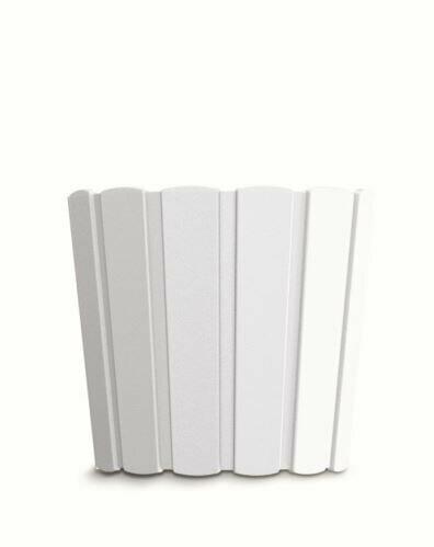 Květináč BOARDEE BASIC bílý 23,9cm