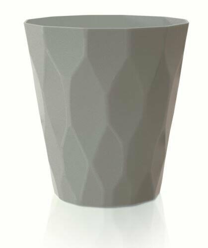 Květináč ROCKA šedý kámen 13,0 cm