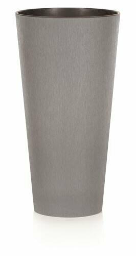 Květináč TUBUS SLIM BETON šedý 15cm
