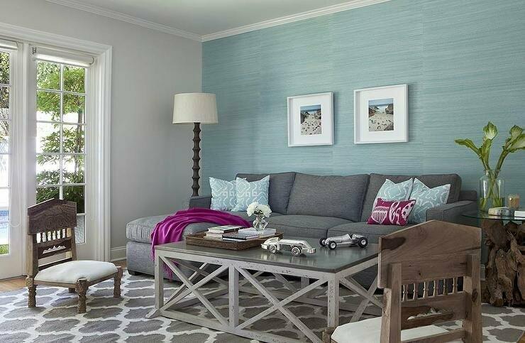 Moderná obývacia izba.