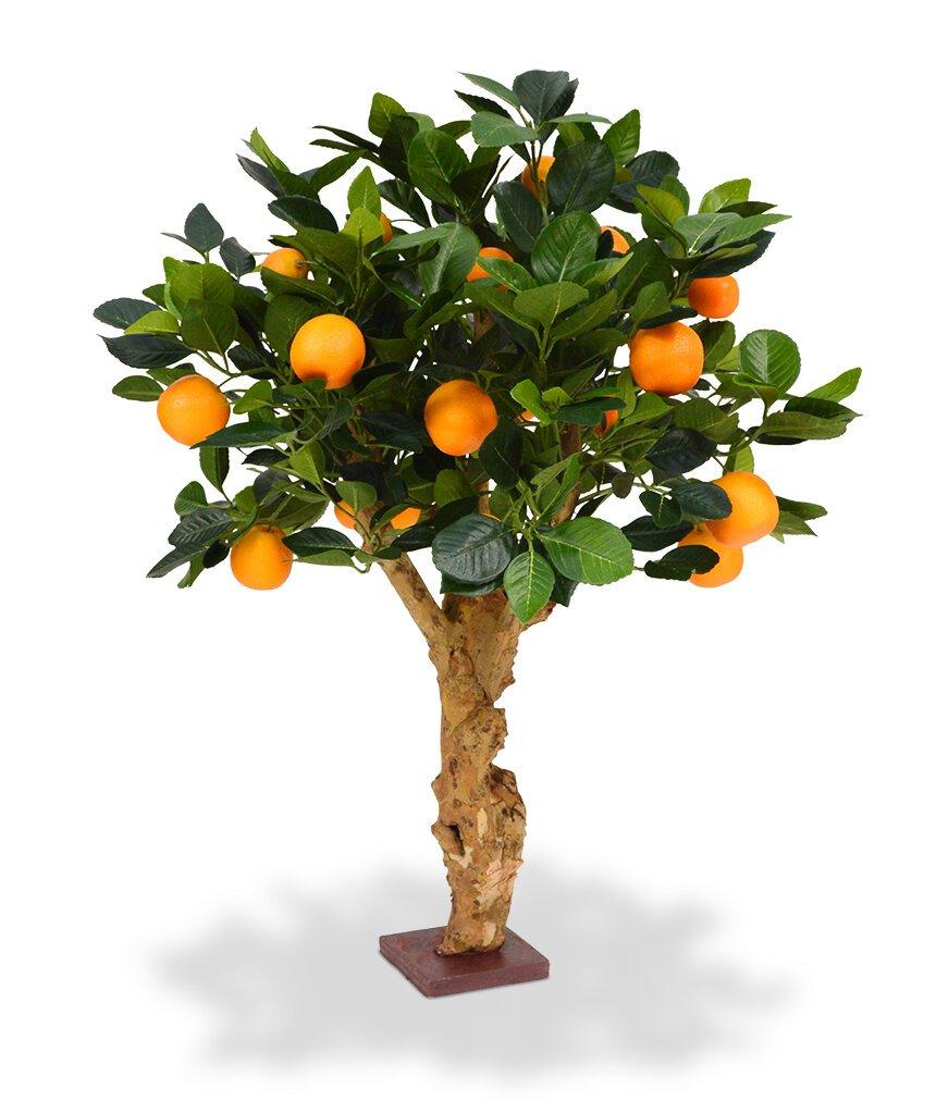 Nádherný umelý bonsai Pomarančovník 65 cm