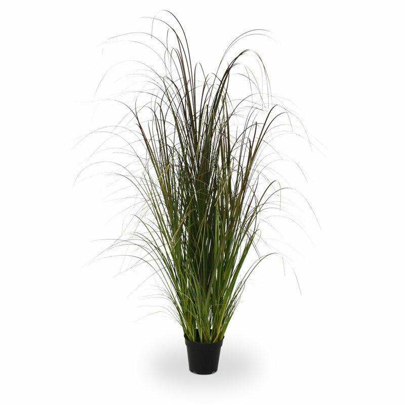 Umelá tráva 120 cm v kvetináči