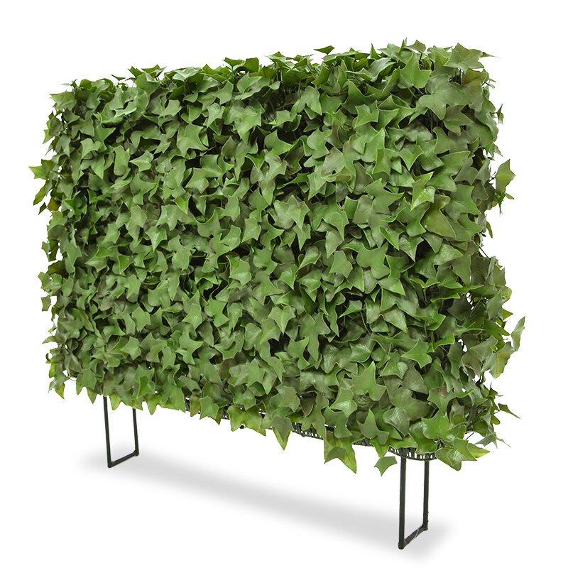 Umělý živý plot Ivy 80x25x56 cm