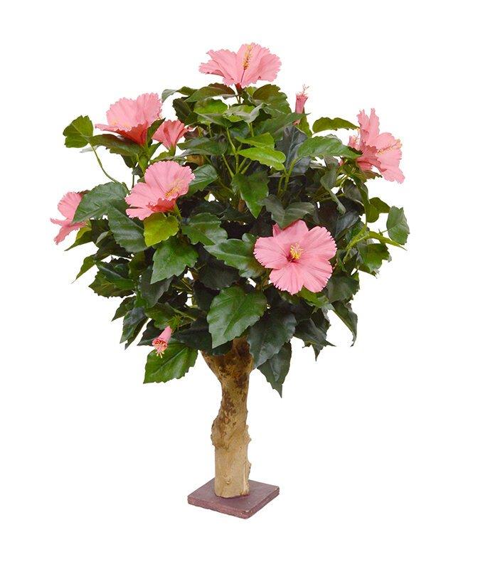 Umělá rostlina Ibišku 65 cm