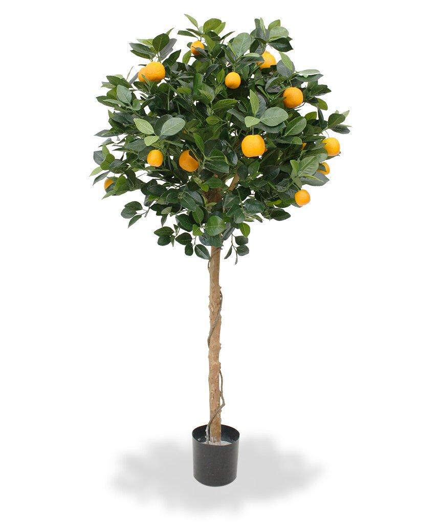 Umělý strom Citrónovník pomerančový 120 cm