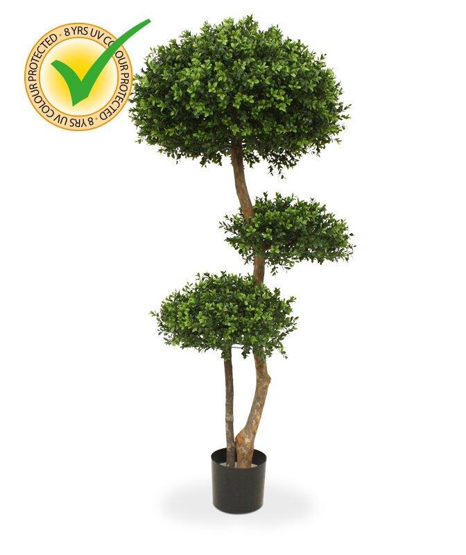 Umělý buxusový strom Deluxe 140 cm