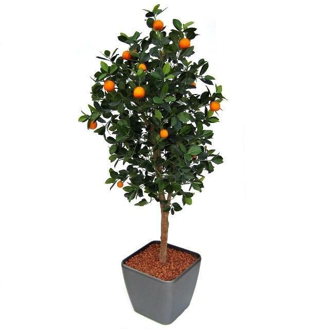 Umělý strom pomerančovník 150 cm