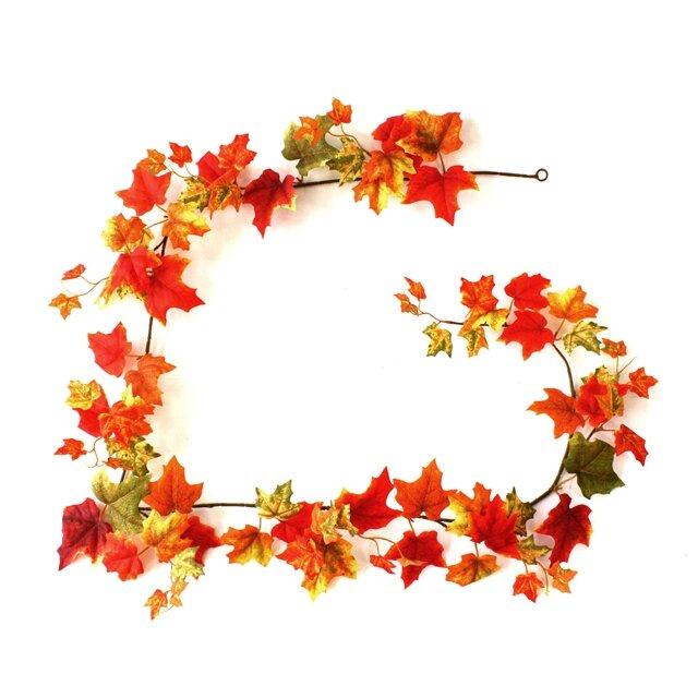 Javorová podzimní girlanda 180cm