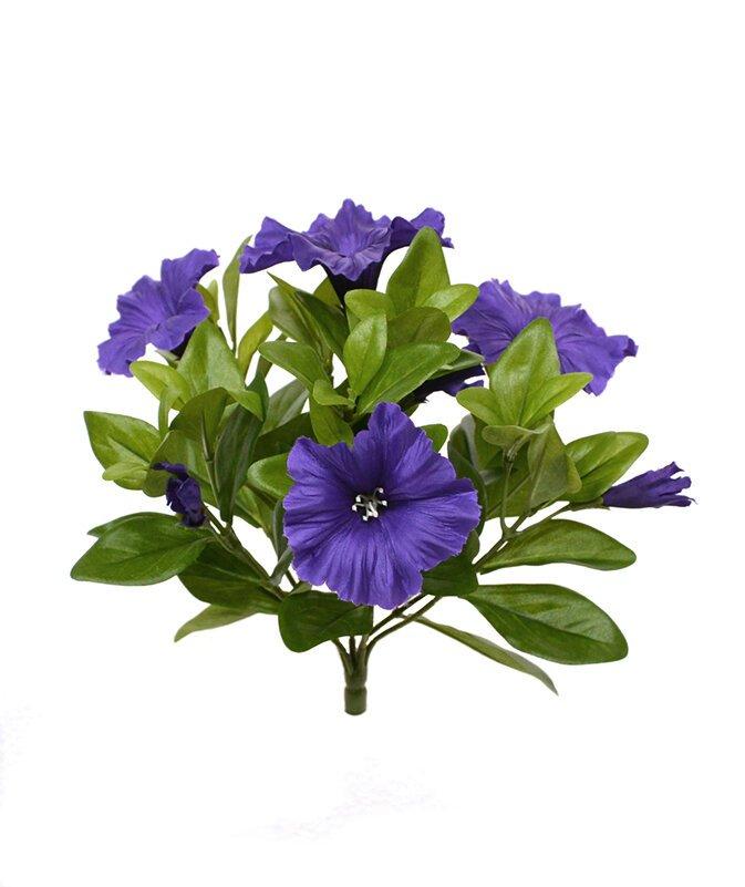 Umelá rastlina Petúnia 25 cm - fialová