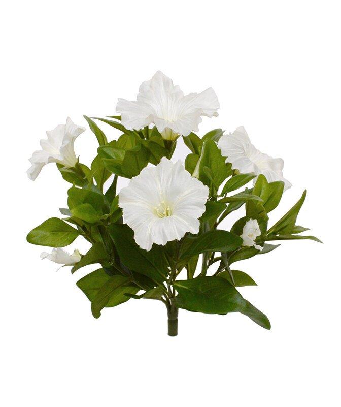 Umelá rastlina Petúnia 25 cm - krémová