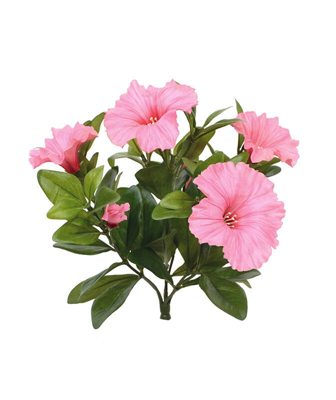 Umelá rastlina Petúnia 25 cm - ružová