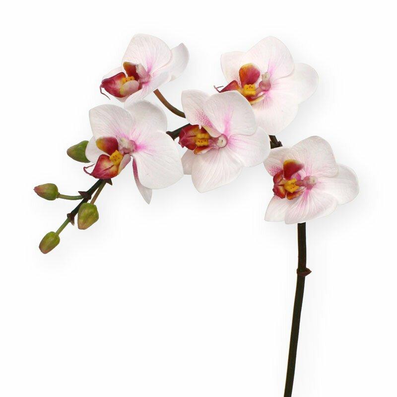 Umelá Orchidea Phalaenopsis 50 cm - ružová