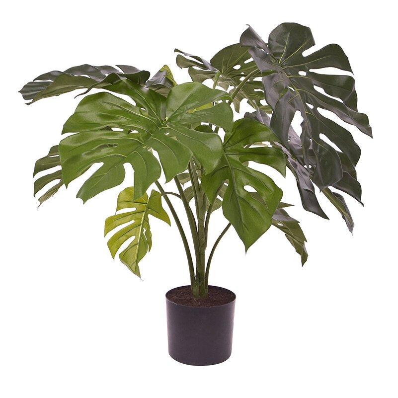 Umělá rostlina Monstera 80 cm