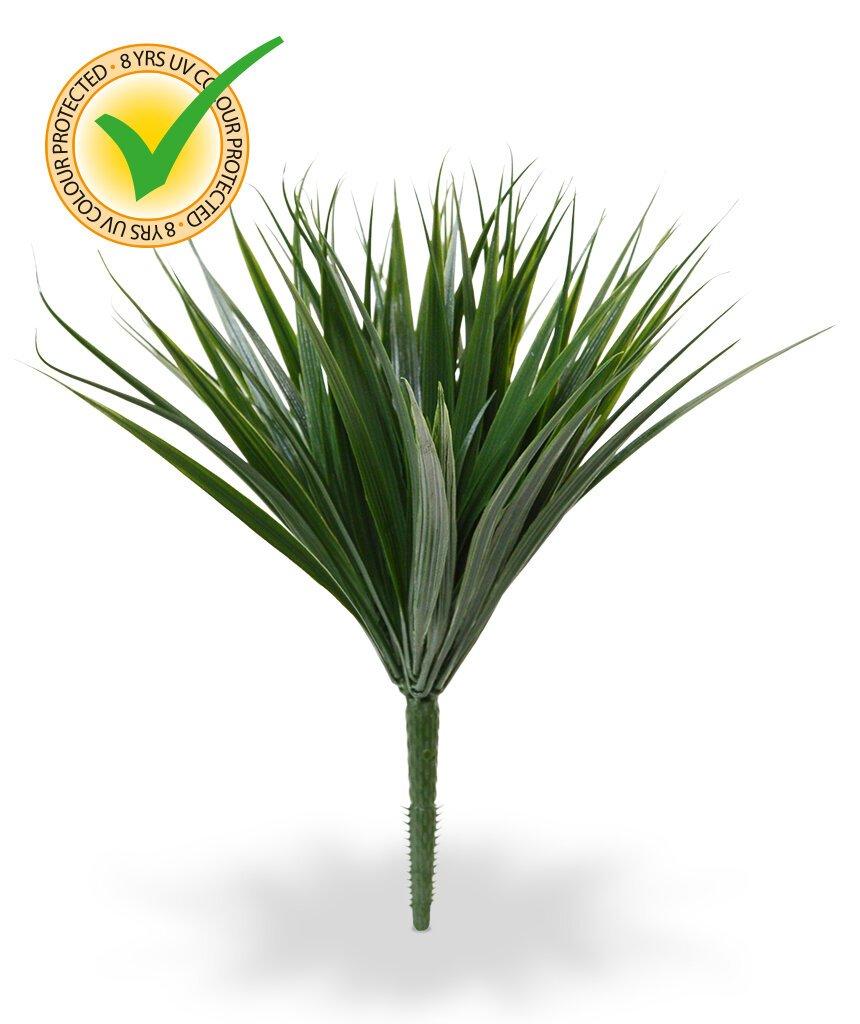 Umelý a UV odolný bambusový krík 25 cm
