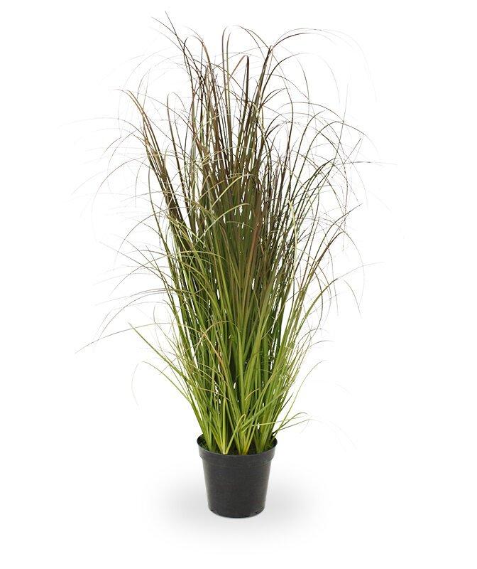 Umelá tráva v kvetináči 90 cm