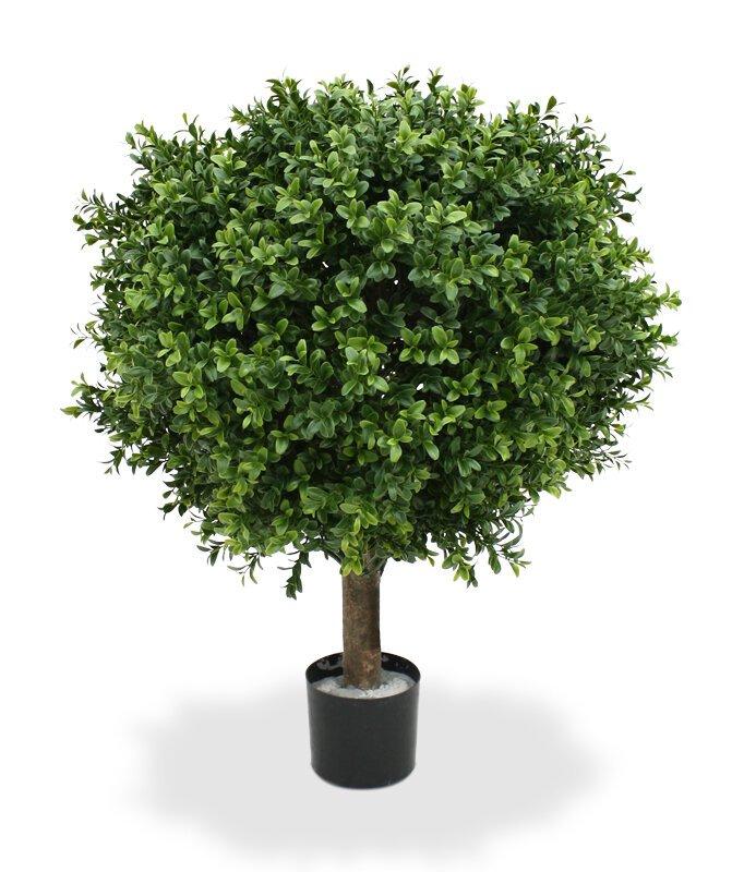 Umělá buxusová rostlina Deluxe 50 cm