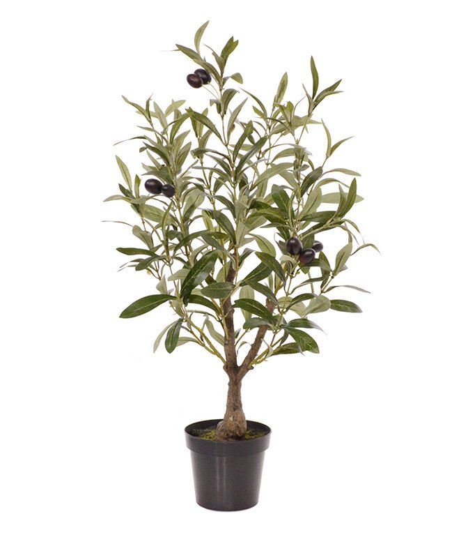 Umelý Olivovník 60 cm v kvetináči