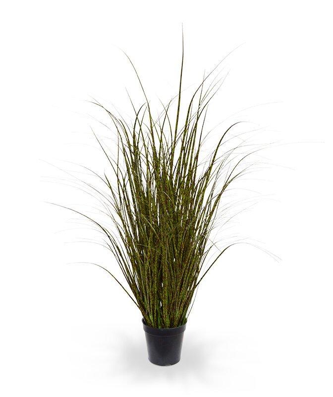 Umelá tráva zeleno hnedá zebrovitá 80 cm