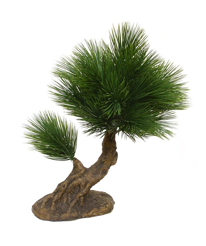 Umělá mini borovice Bonsai 25 cm