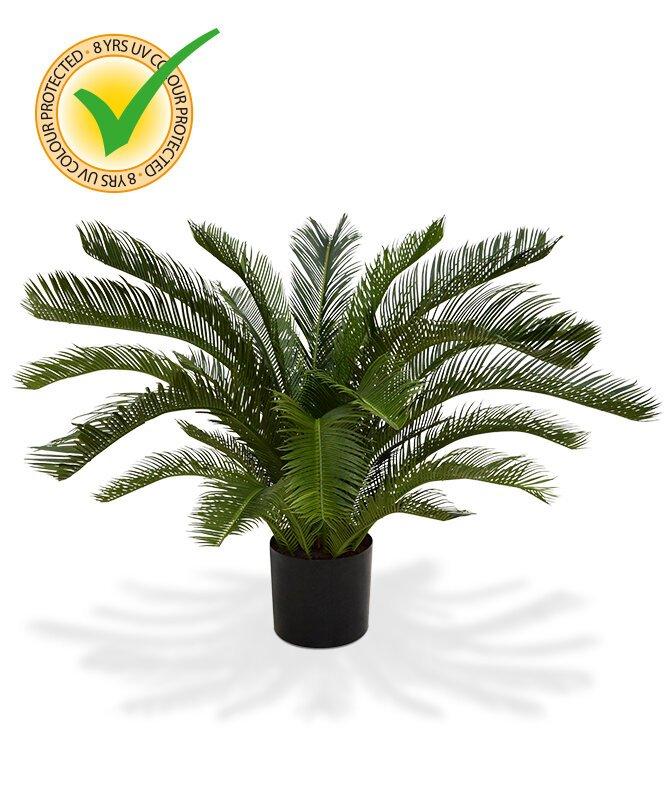 Umělá palma Cycas Deluxe 80 cm