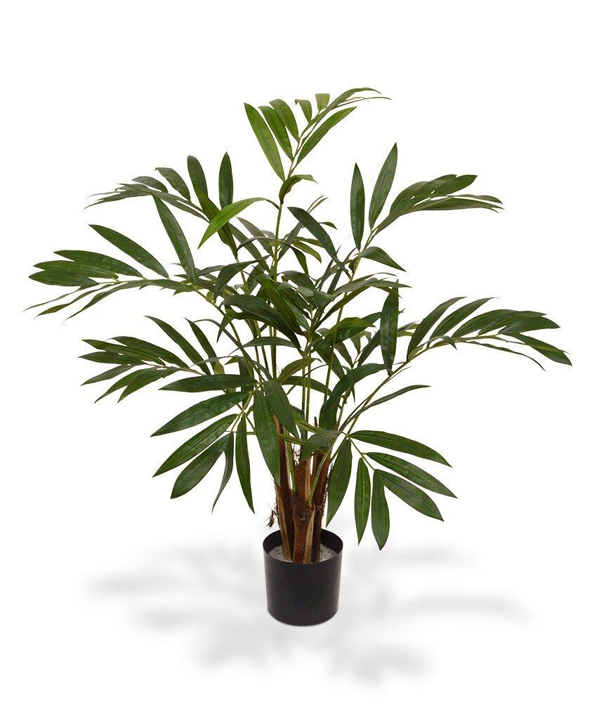 Umelá palma Chamaedoria v kvetináči - 85 cm