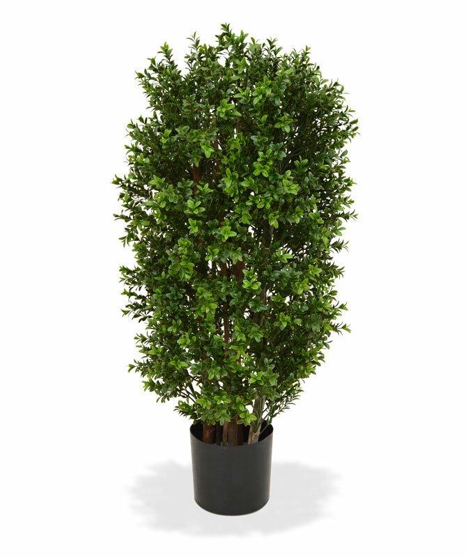 Umělý strom Buxus sloupovitý 90 cm