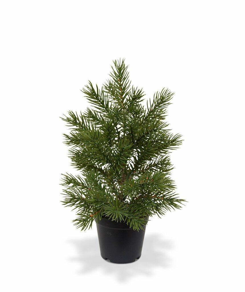 Umělý vánoční stromek v květináči 28 cm