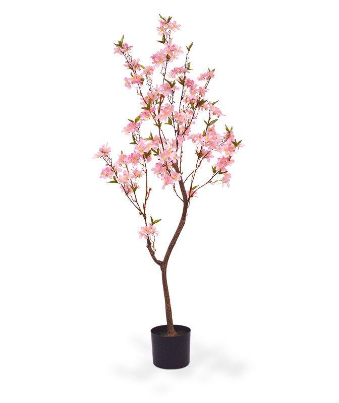 Umělý růžový strom 150 cm