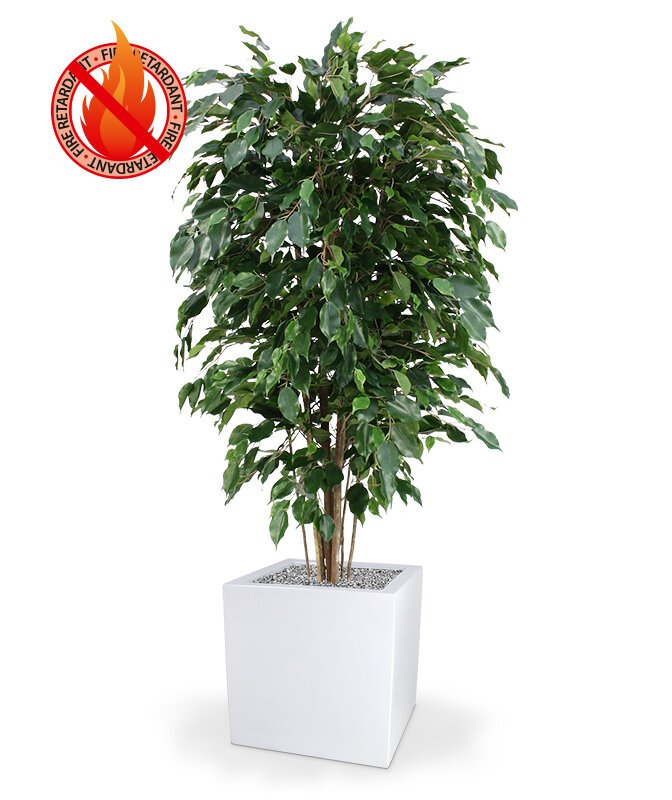 Umelý strom Ficus Exotica Deluxe 150 cm - zelený
