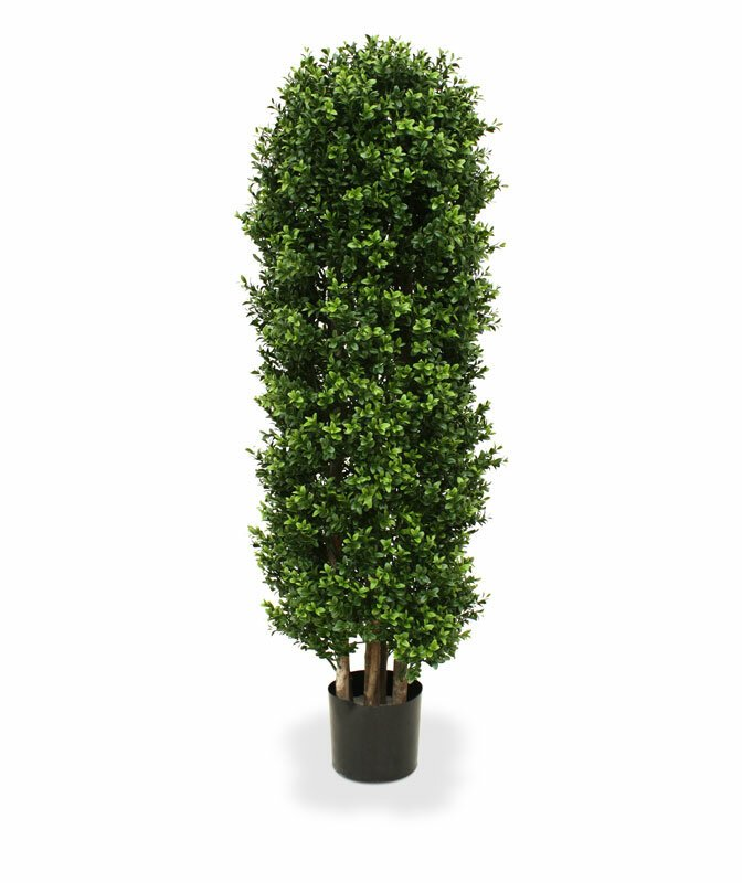 Umělý buxusový strom Deluxe 125 cm