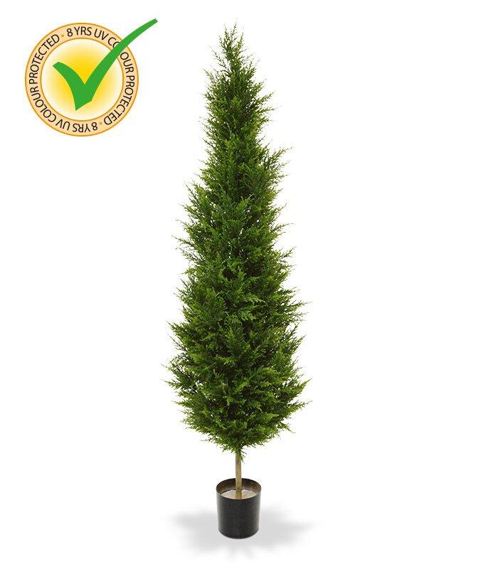 Umelý strom Cypress Deluxe 180 cm - odolný voči UV žiareniu