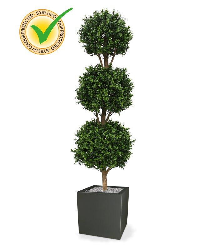 Umělý strom Buxus kulatý 175 cm
