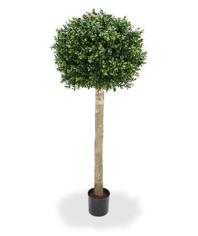 Umelý buxusový strom guľa 110 cm