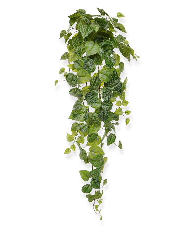 Umelá závesná rastlina Scindapsus  90 cm