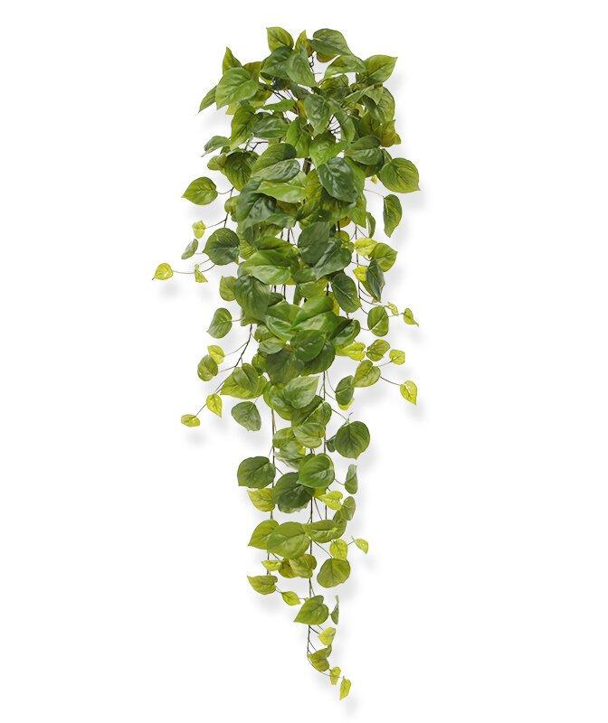 Umelá závesná rastlina Filodendron 80 cm