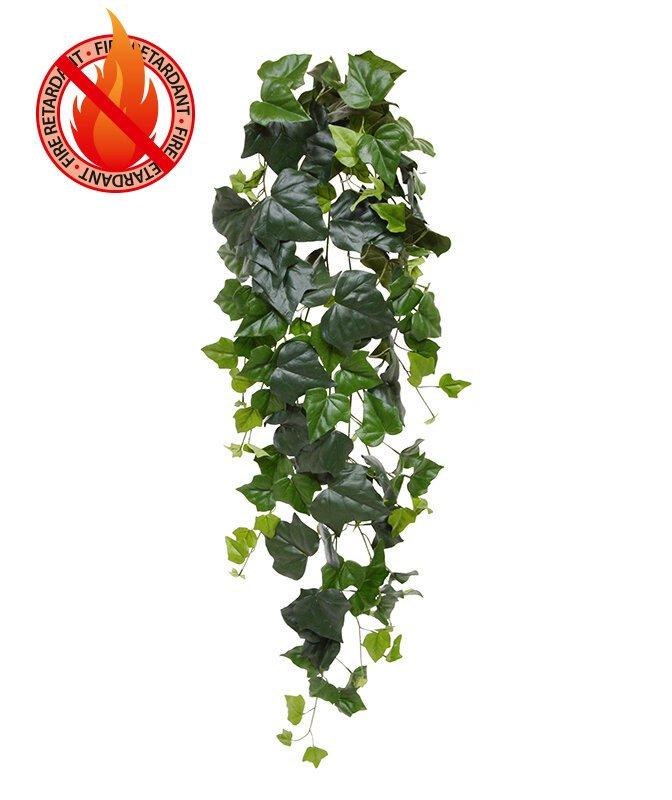 Umelá úponka Hedera 125 cm - zelená