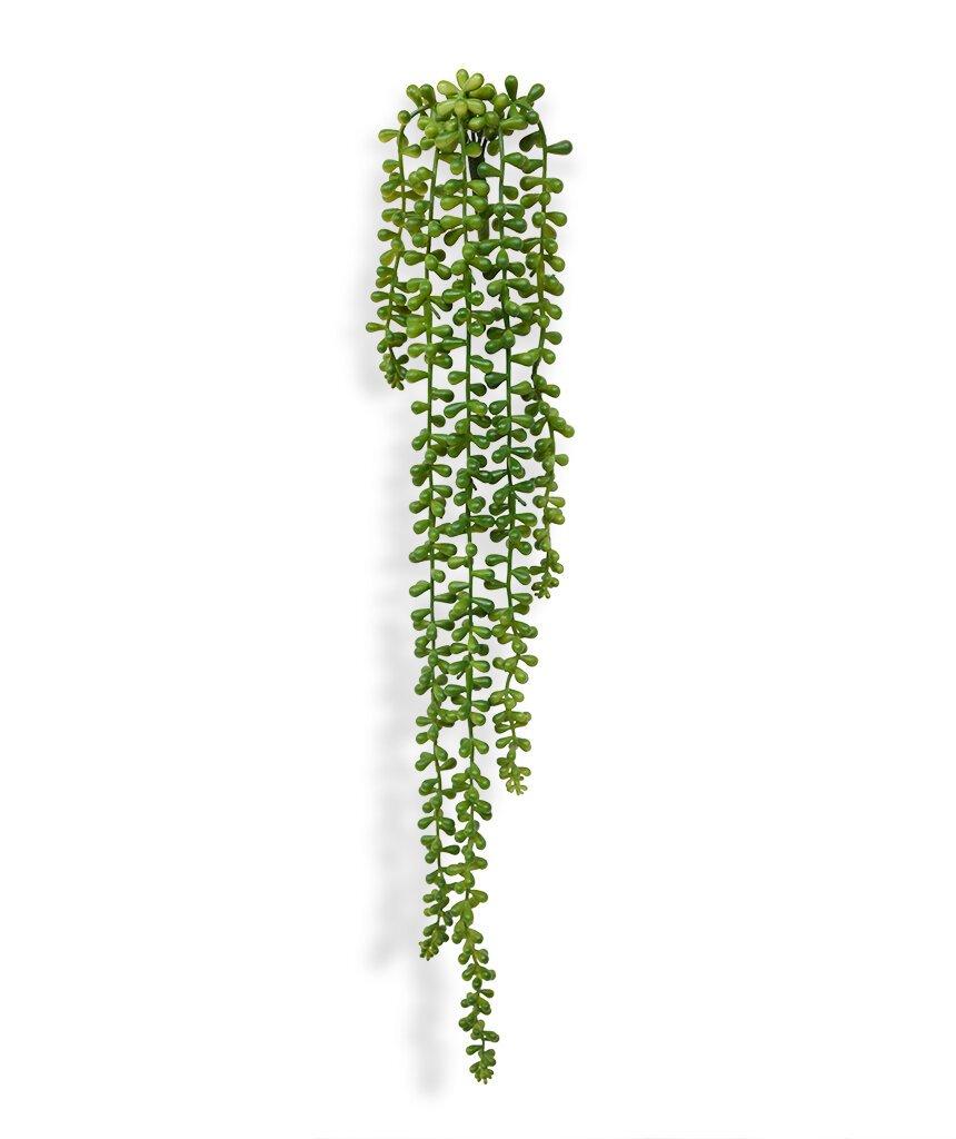 Umělá závěsná rostlina Senecio Pearl, 55 cm