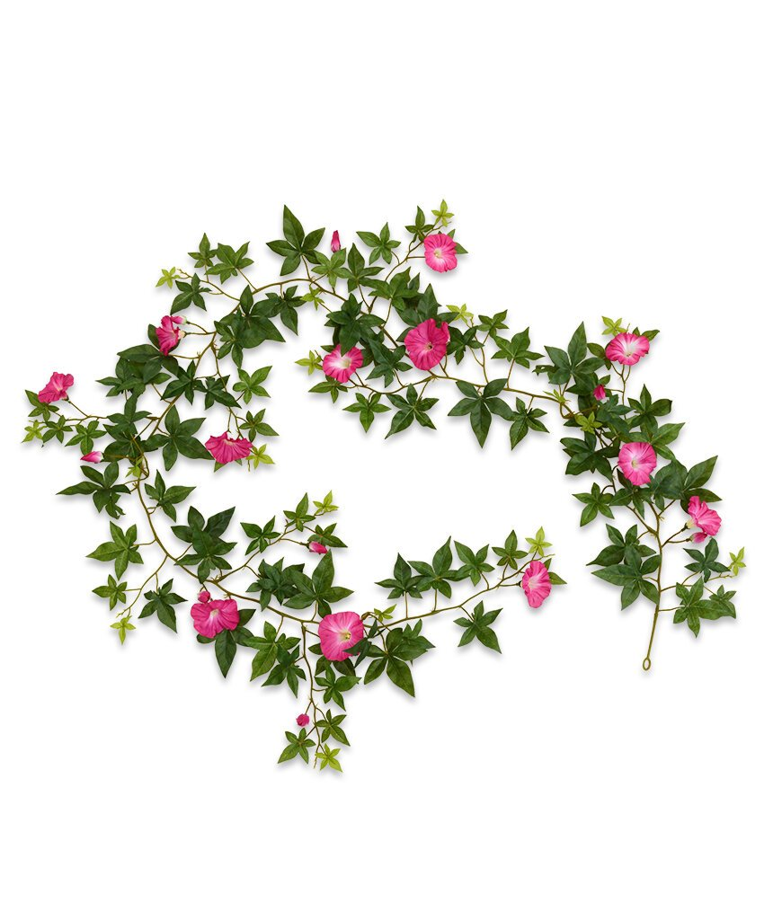 Umelá girlanda Petunia 180 cm - ružová