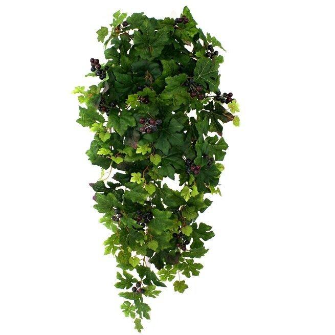 Umělá závěsná rostlina Hroznů 90 cm