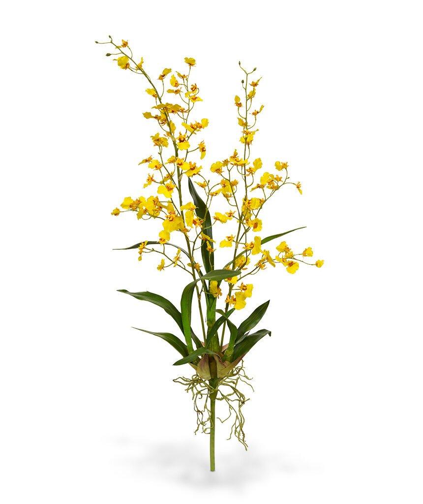 Umělá Orchidea Oncidium Deluxe 80 cm