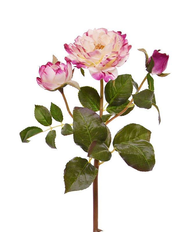 Umělá větev Růže 50 cm