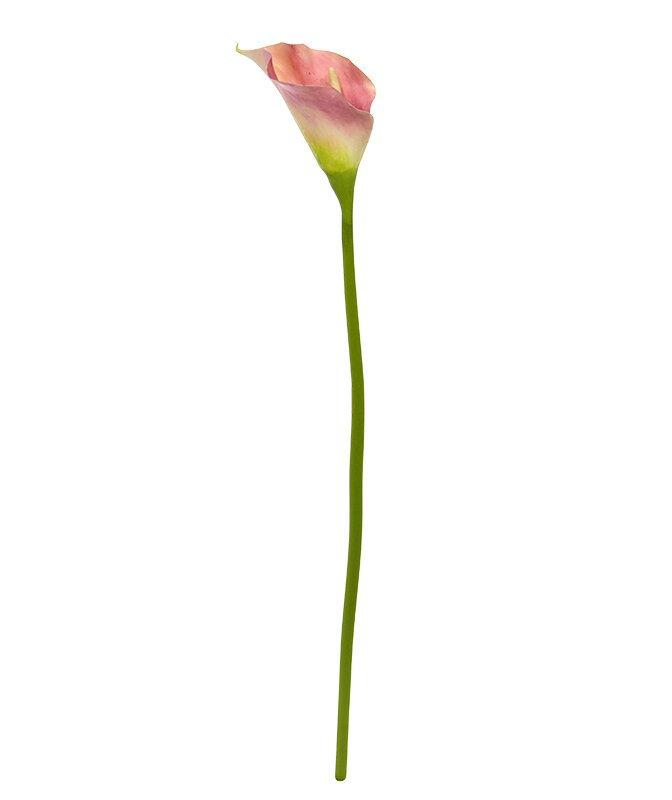 Umelý ružový kvet Kala 55 cm