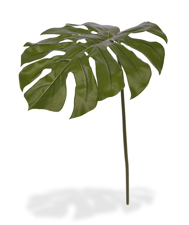 Umelý list Monstera 75 cm