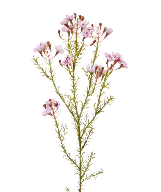 Umelá ružová vetvička 65 cm