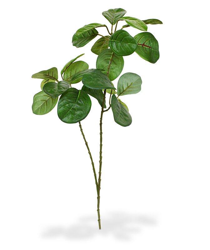 Umělá větev Jackfruit 50 cm - zelená