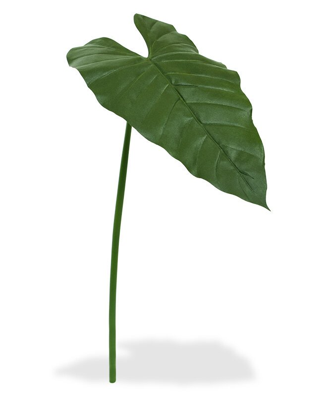 Umělý list Filodendron 65 cm