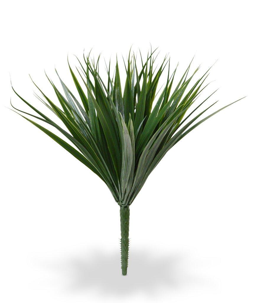 Umelá rastlina Bambus 25 cm - tmavo zelený