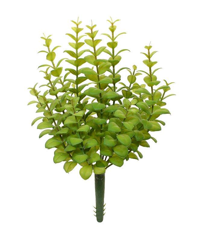 Umelá rastlina Eucalyptus 30 cm - zelená