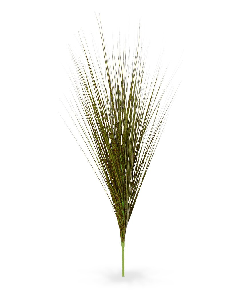 Umělá zeleno-hnědá tráva 85 cm