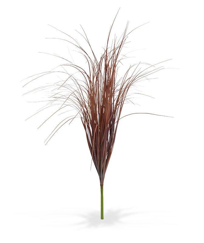 Umělá tráva 80 cm - červená